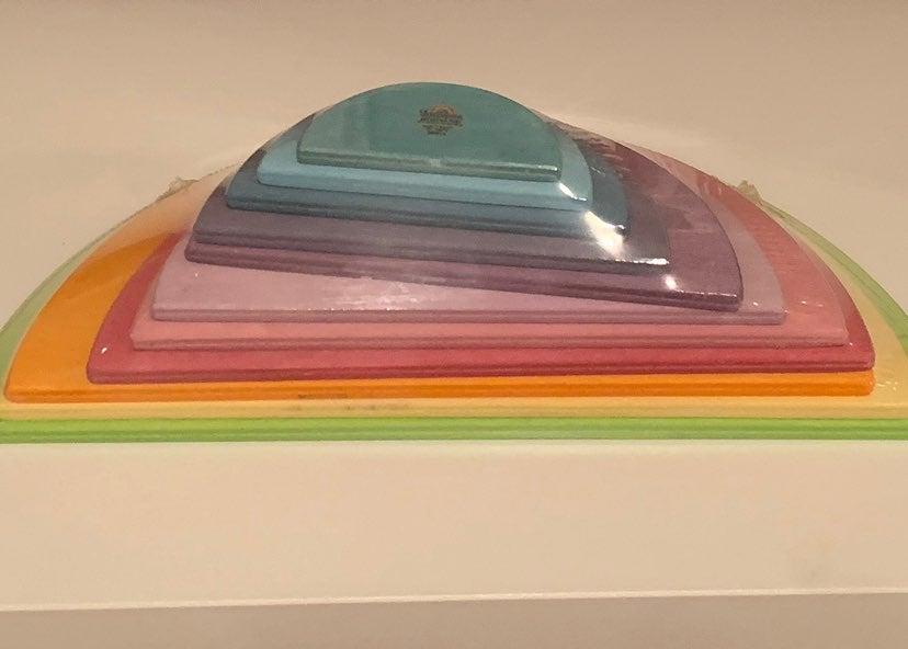 Grimm's Rainbow Pastel semicircles