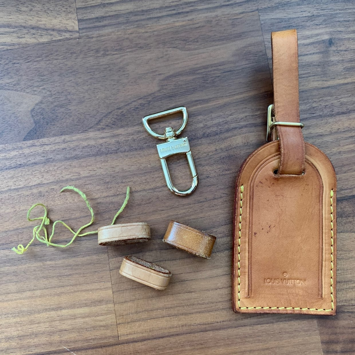 Louis Vuitton Spare Parts Luggage Tag