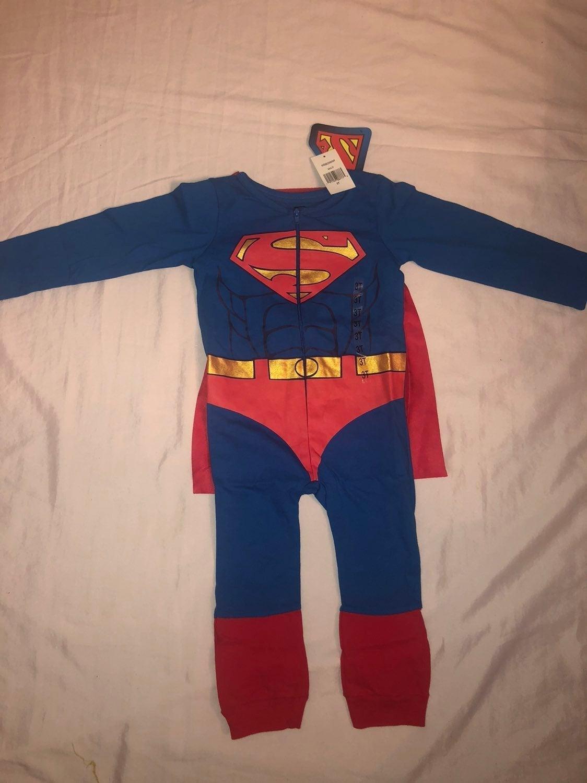 Superman costume or pajamas
