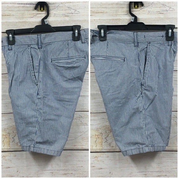 SH82 Gap Straight Fit Striped Shorts 29