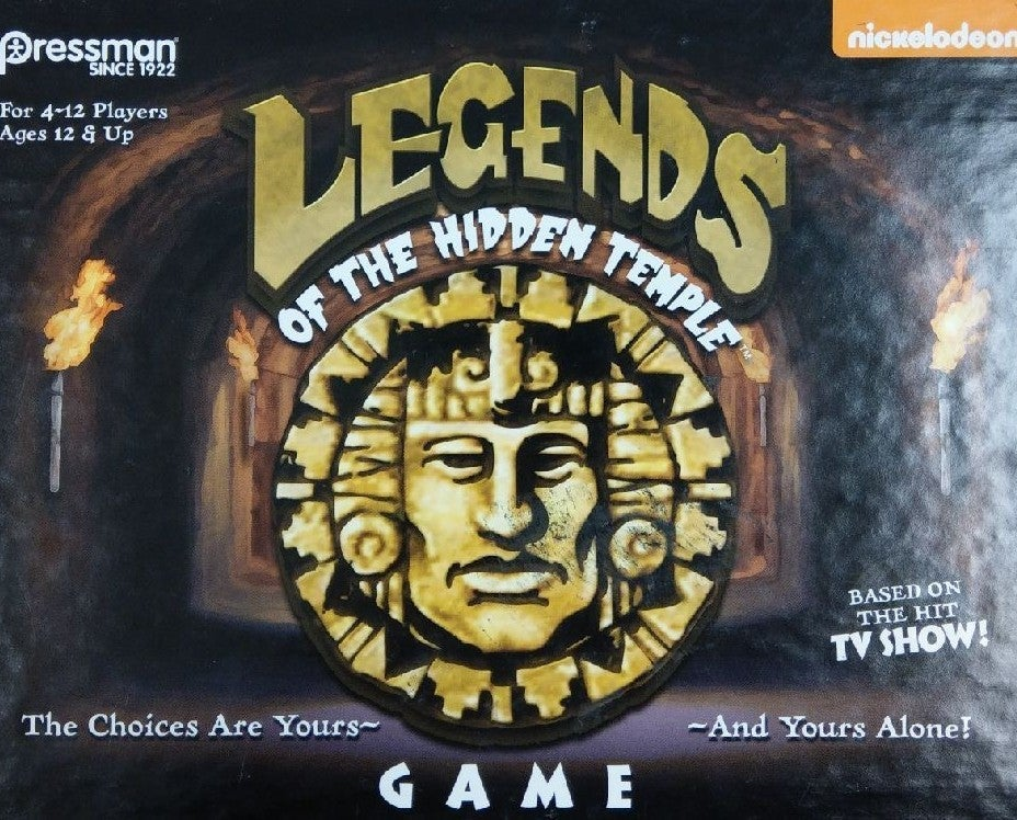 Legends of the Hidden Temple Card Game