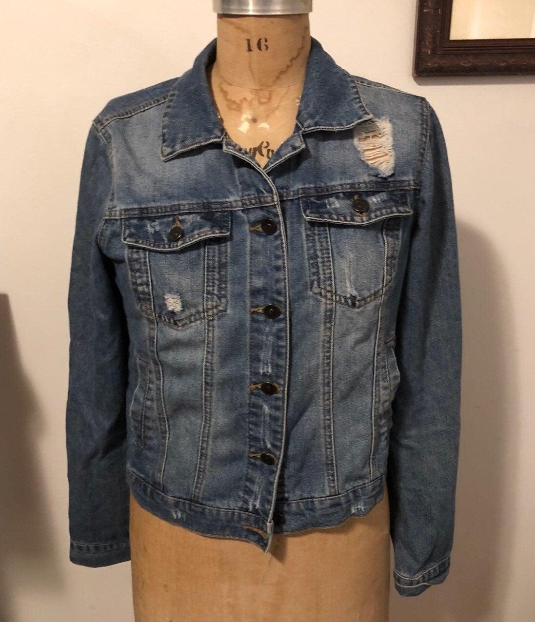 Jean Jacket - Size M
