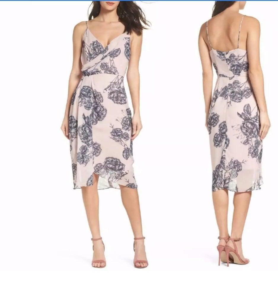 Cooper st slip dress bellini Rose print