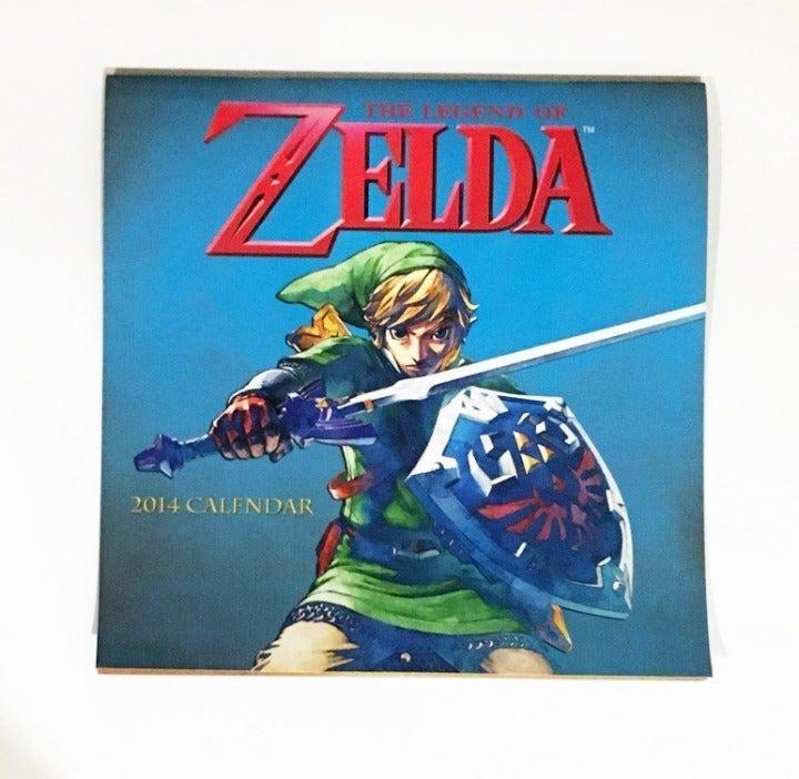 Zelda Calendar 2014 (Collector's item)