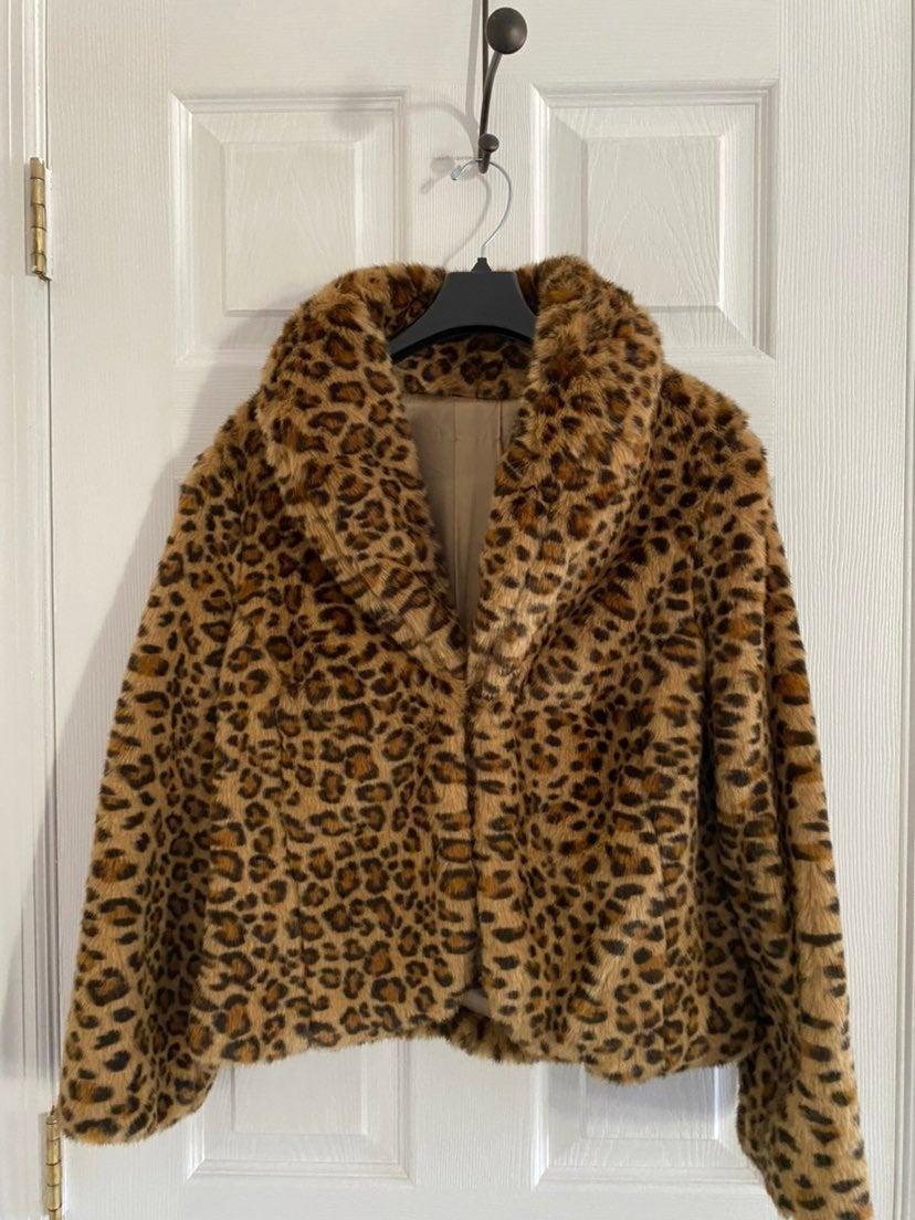 Faux Fur Coat LIKE NEW