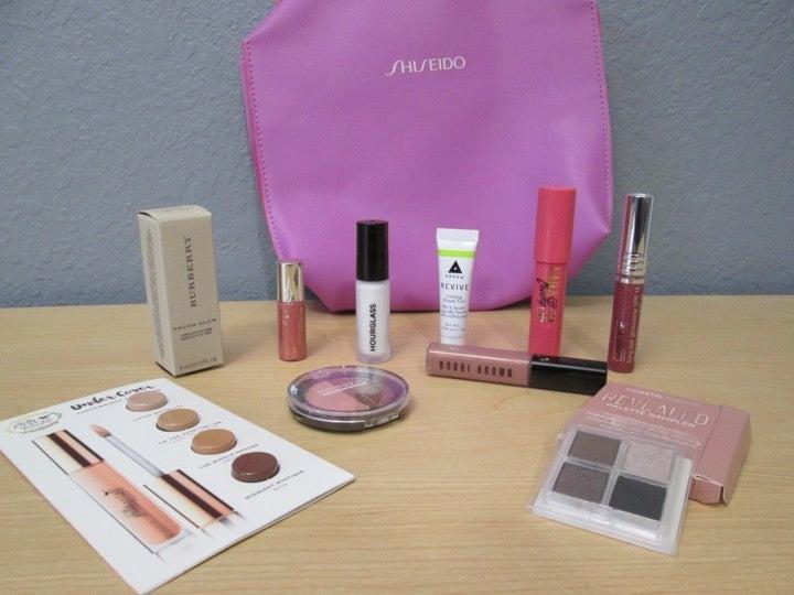 Lot of Makeup Items + Cosmetic Bag - NEW