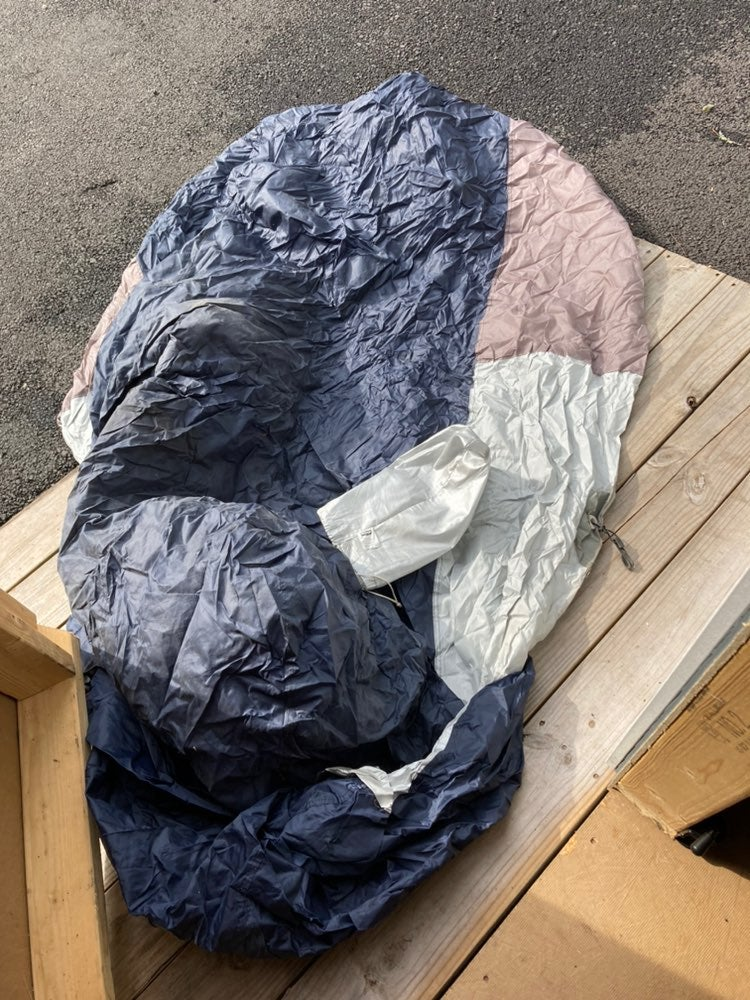 Motorcycle cover made by budge.