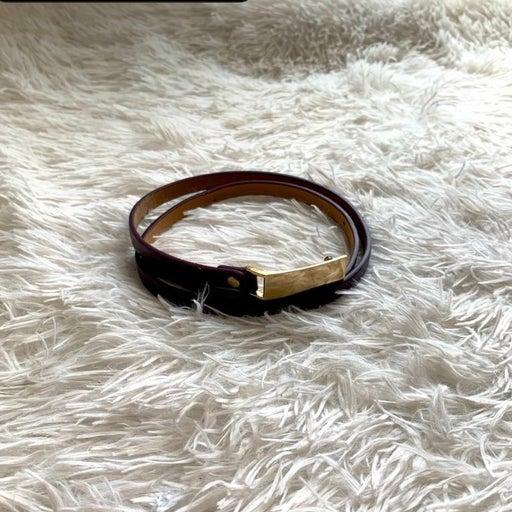 Brown womans belt