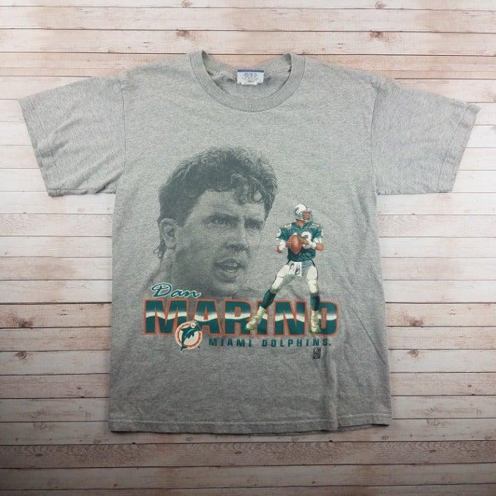 VTG 1990s Dan Marino Dolphins Tee Shirt
