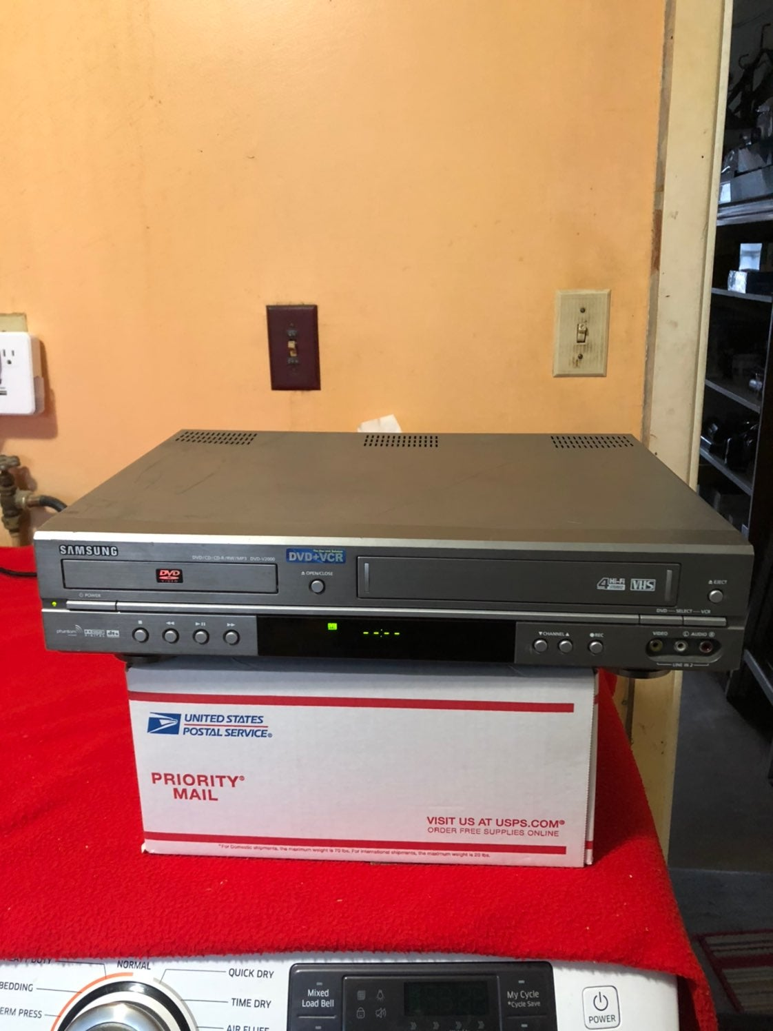 dvd vcr combo player