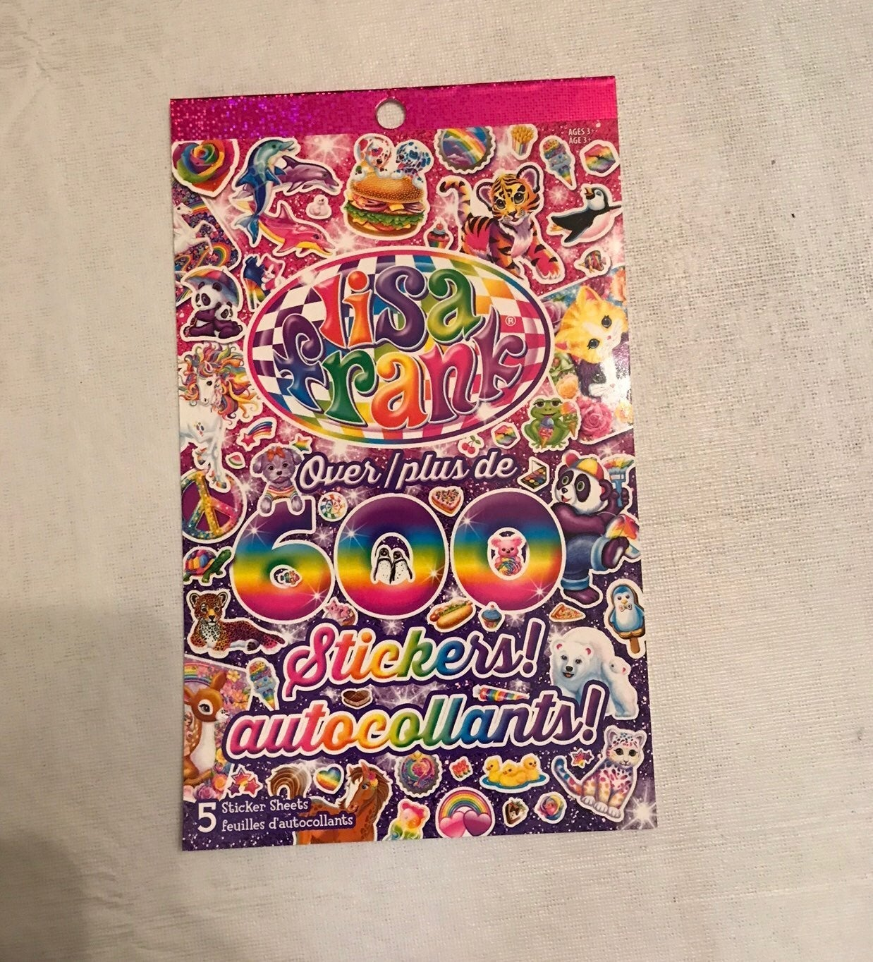 Lisa Frank Stickers (600+)