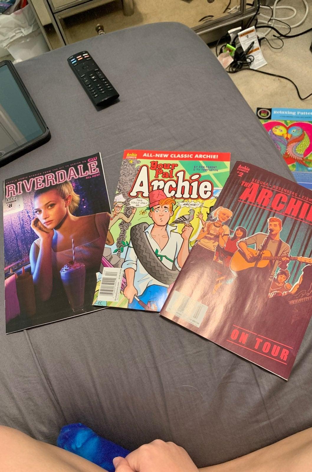 Vintage Archie Andrews comic books