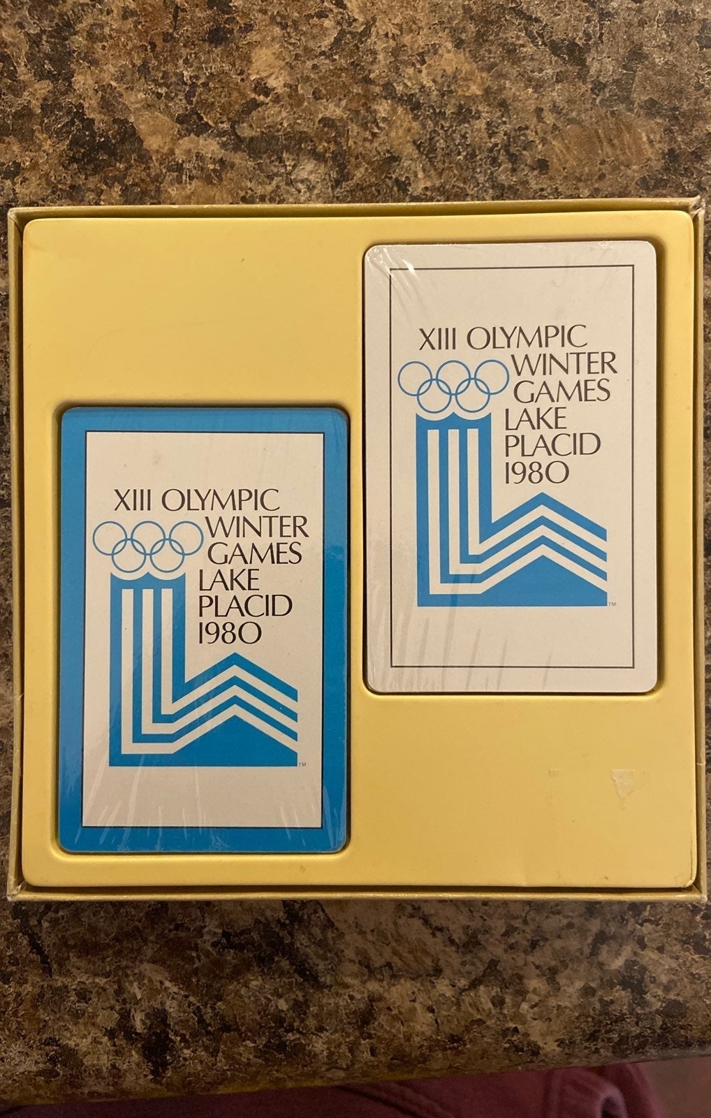 XIII 1980 Winter Games Playing Cards