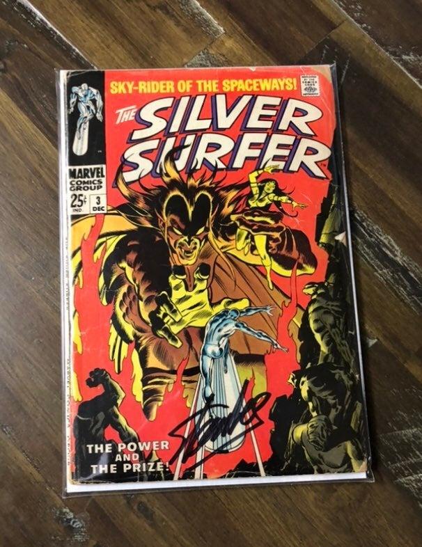 Silver Surfer 3 signed Stan Lee