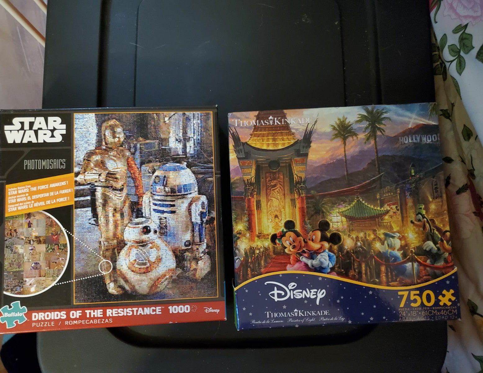 Disney Mickey and Star Wars Puzzles