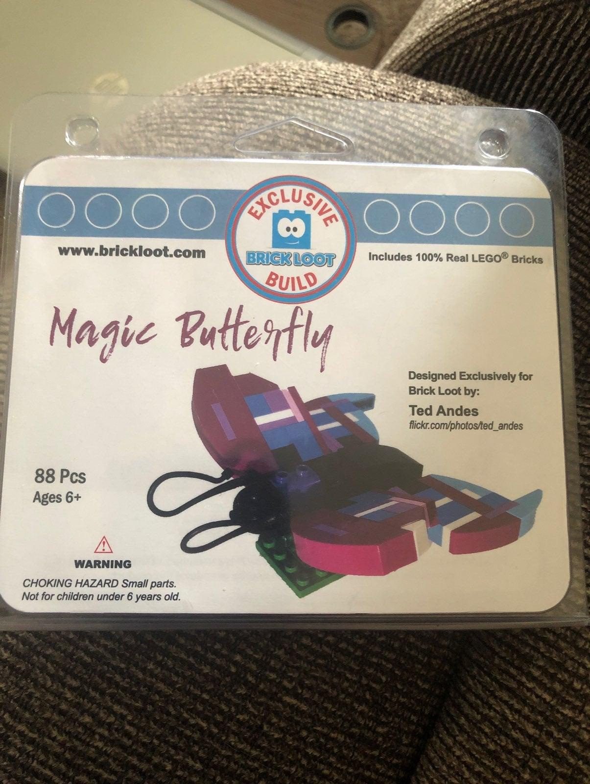 Brick loot magic butterfly