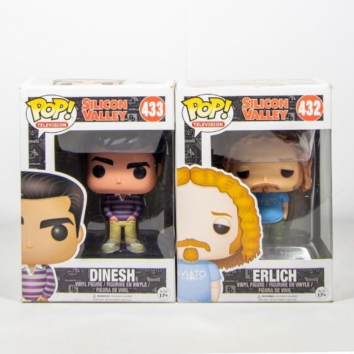 Silicon Valley Funko Pop Erlich & Dinesh