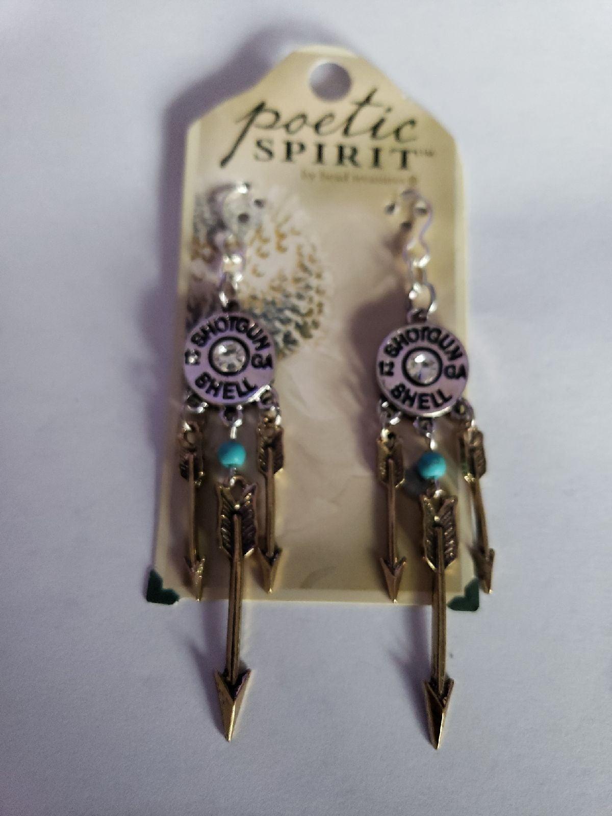 Cowboy earrings for women bullet New
