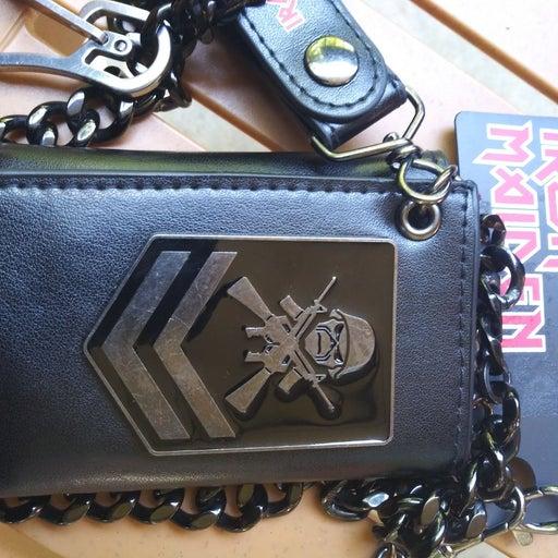 Iron Maiden chain wallet upgrade w match