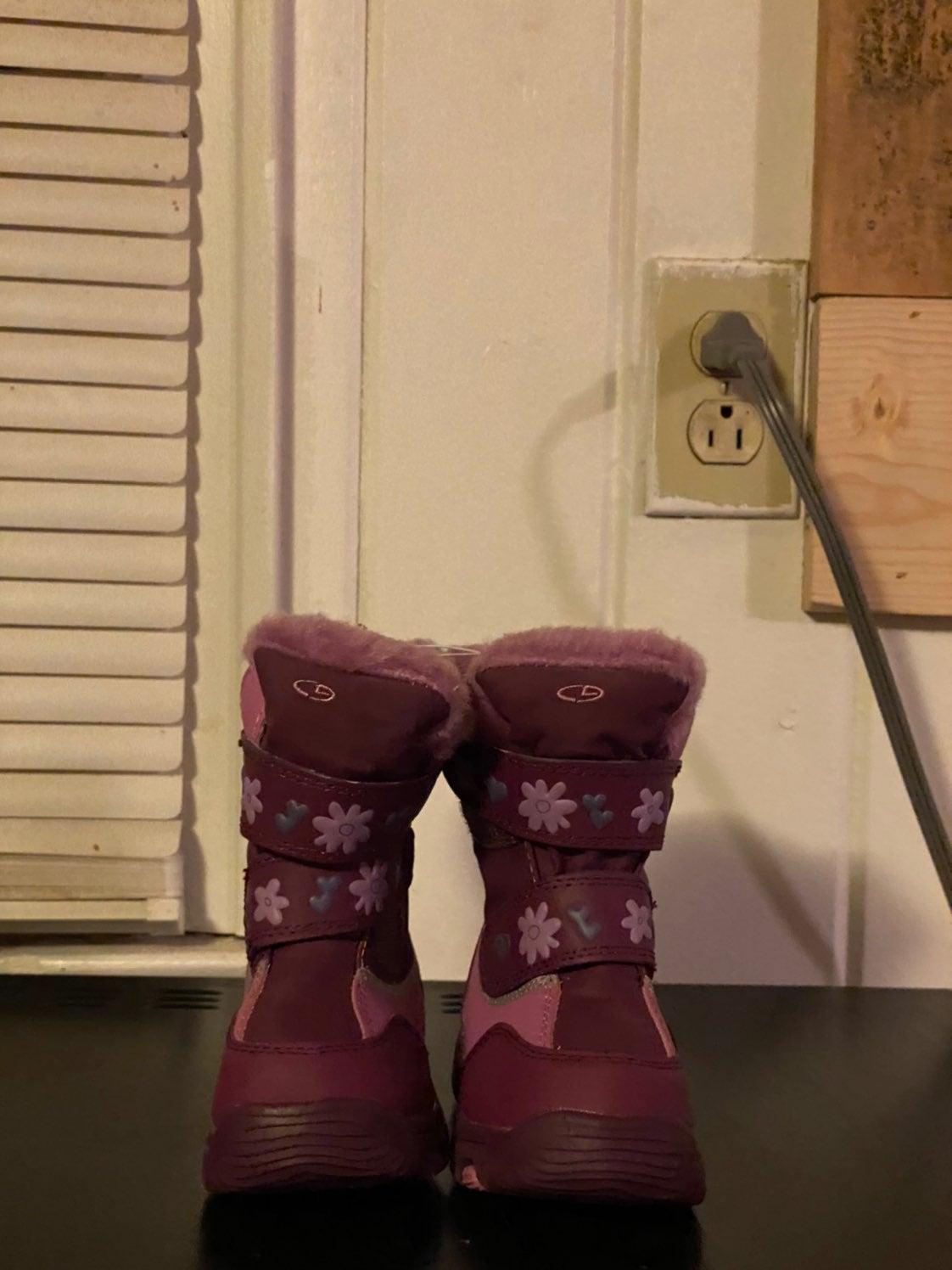Girl's Purple Boots