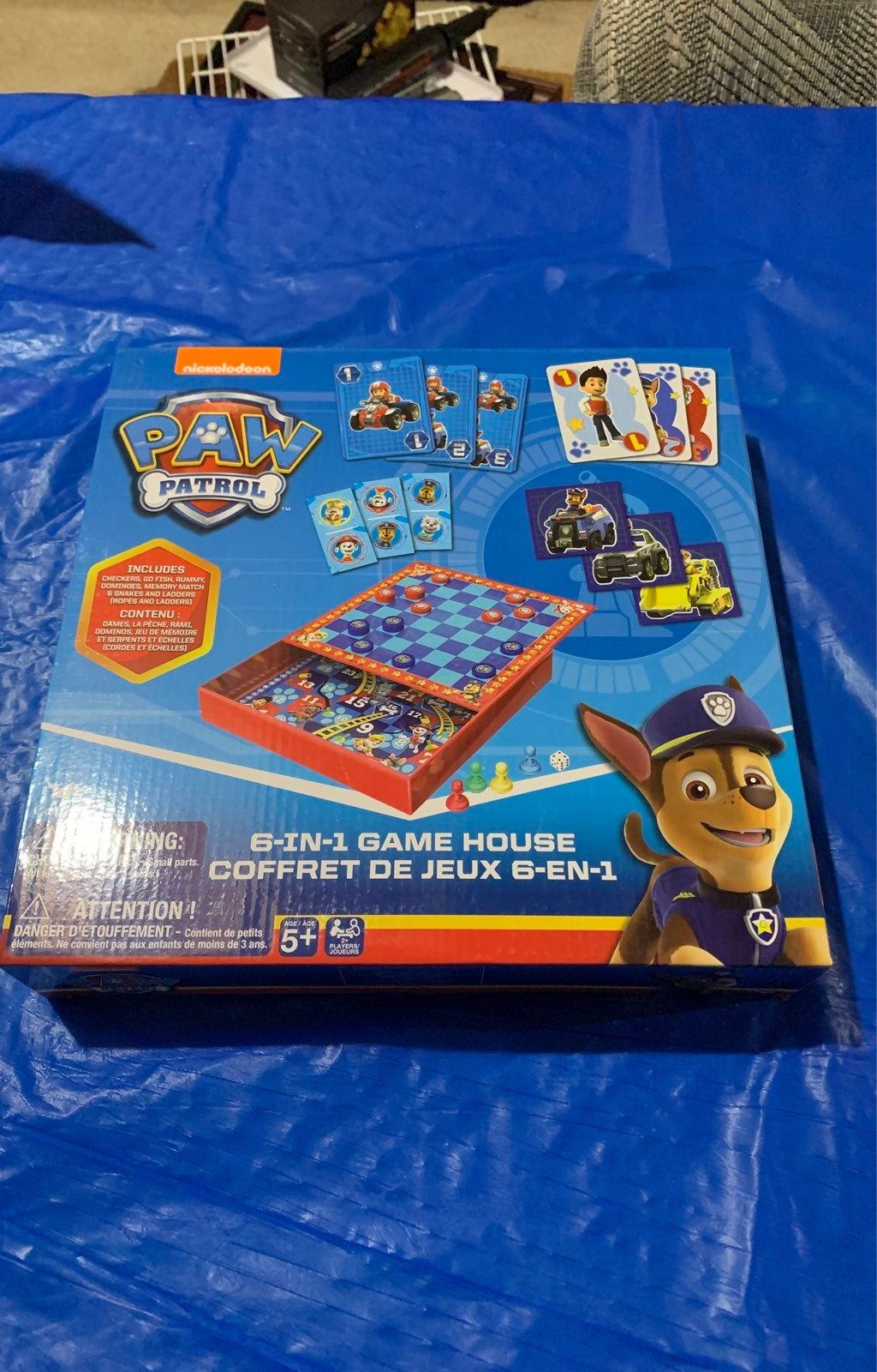 Paw Patrol 6 in 1 Game House