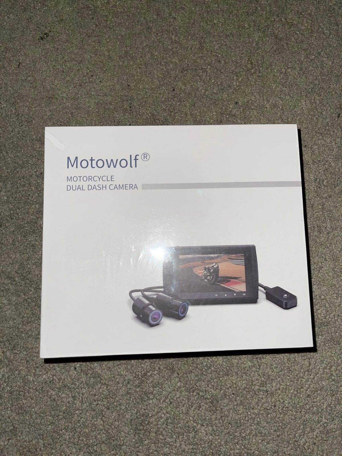 Motowolf M6 Motorcycle Dash Camera Dual