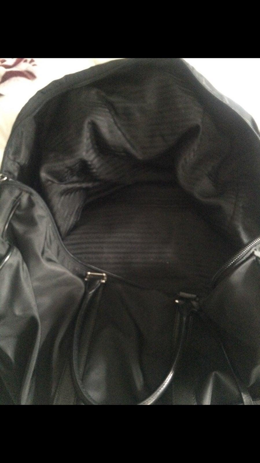 Prada overnight bag