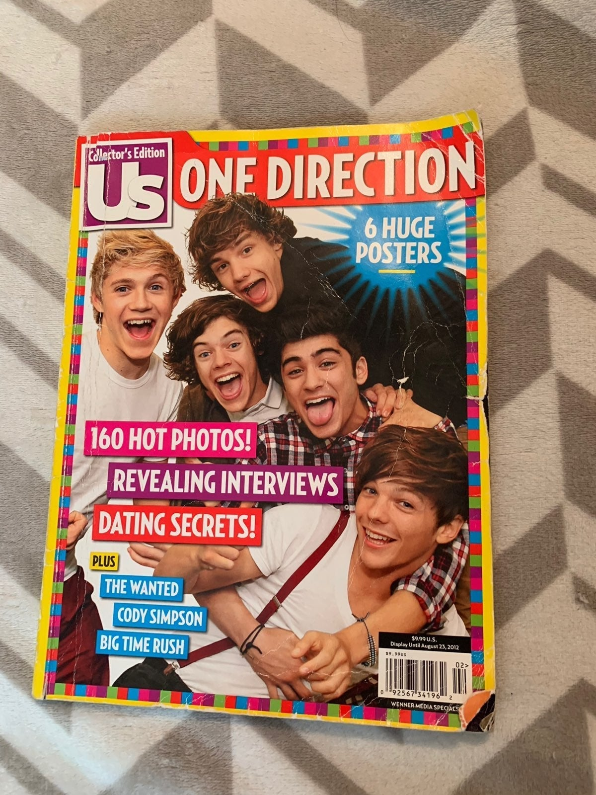 One Direction Magazine 2012