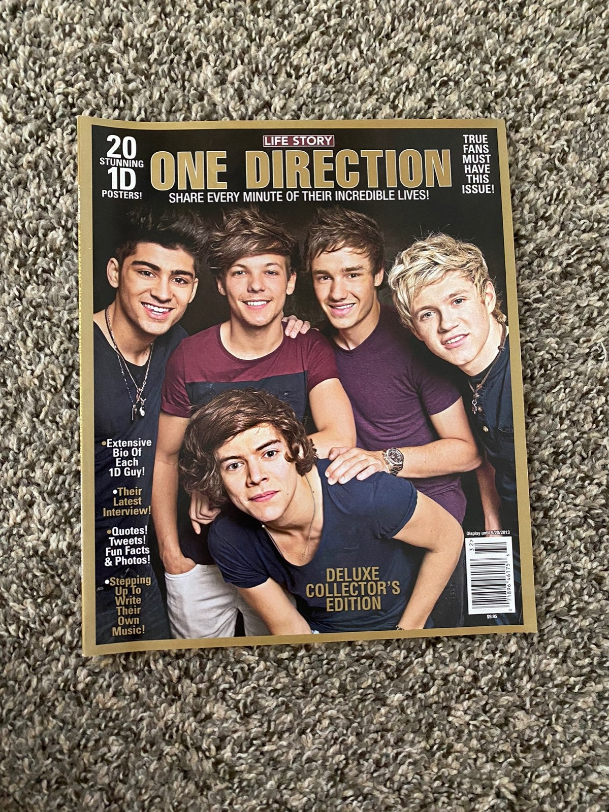 one direction life story deluxe magazine
