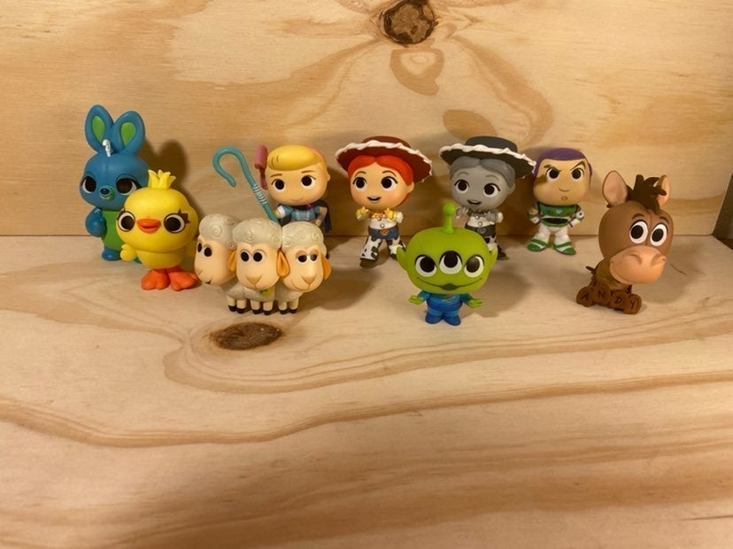 Toy story4 mystery mini Funko Collection