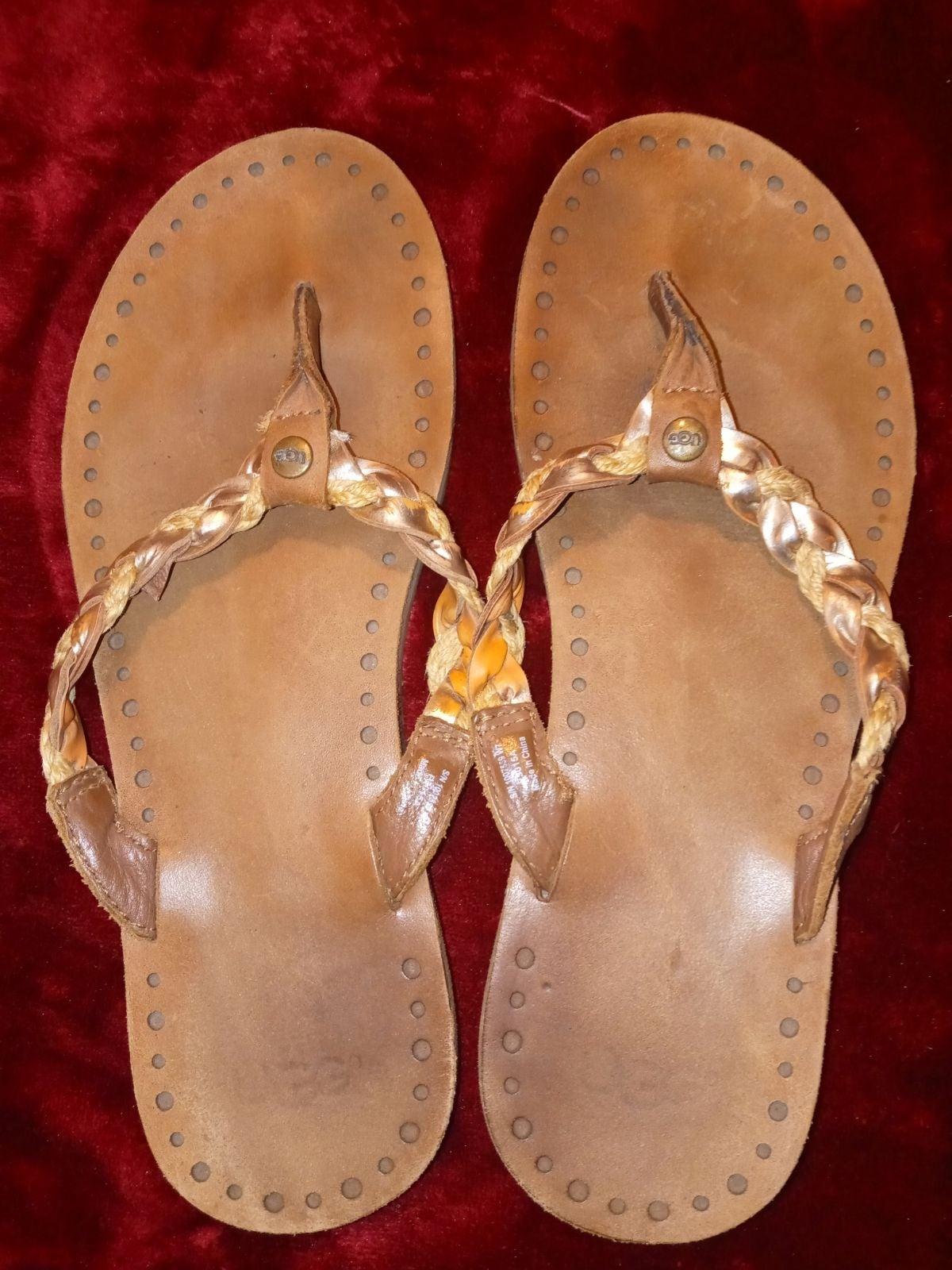 Ladies Ugg flip flops