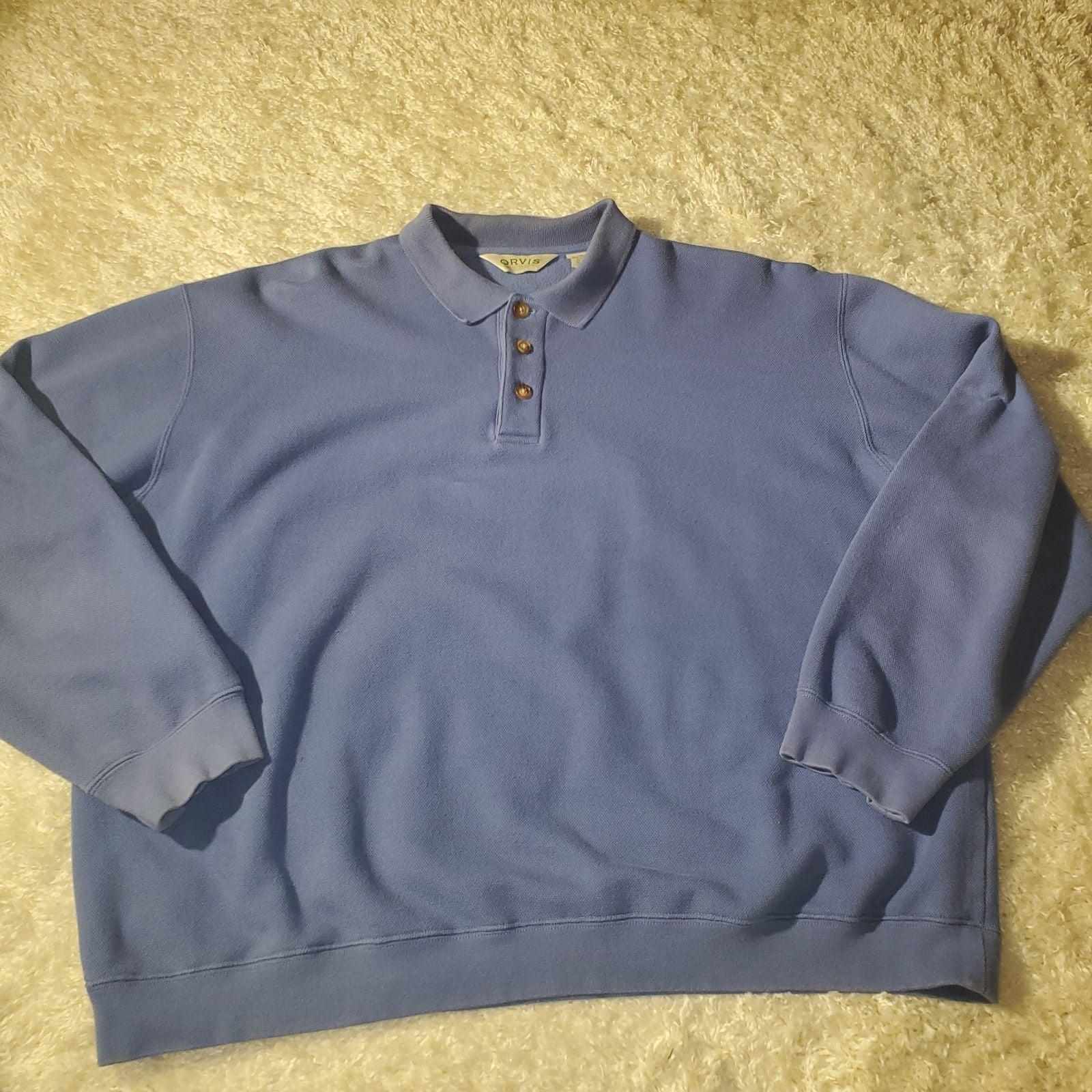 Orvis Blue Shirt Sz. XL