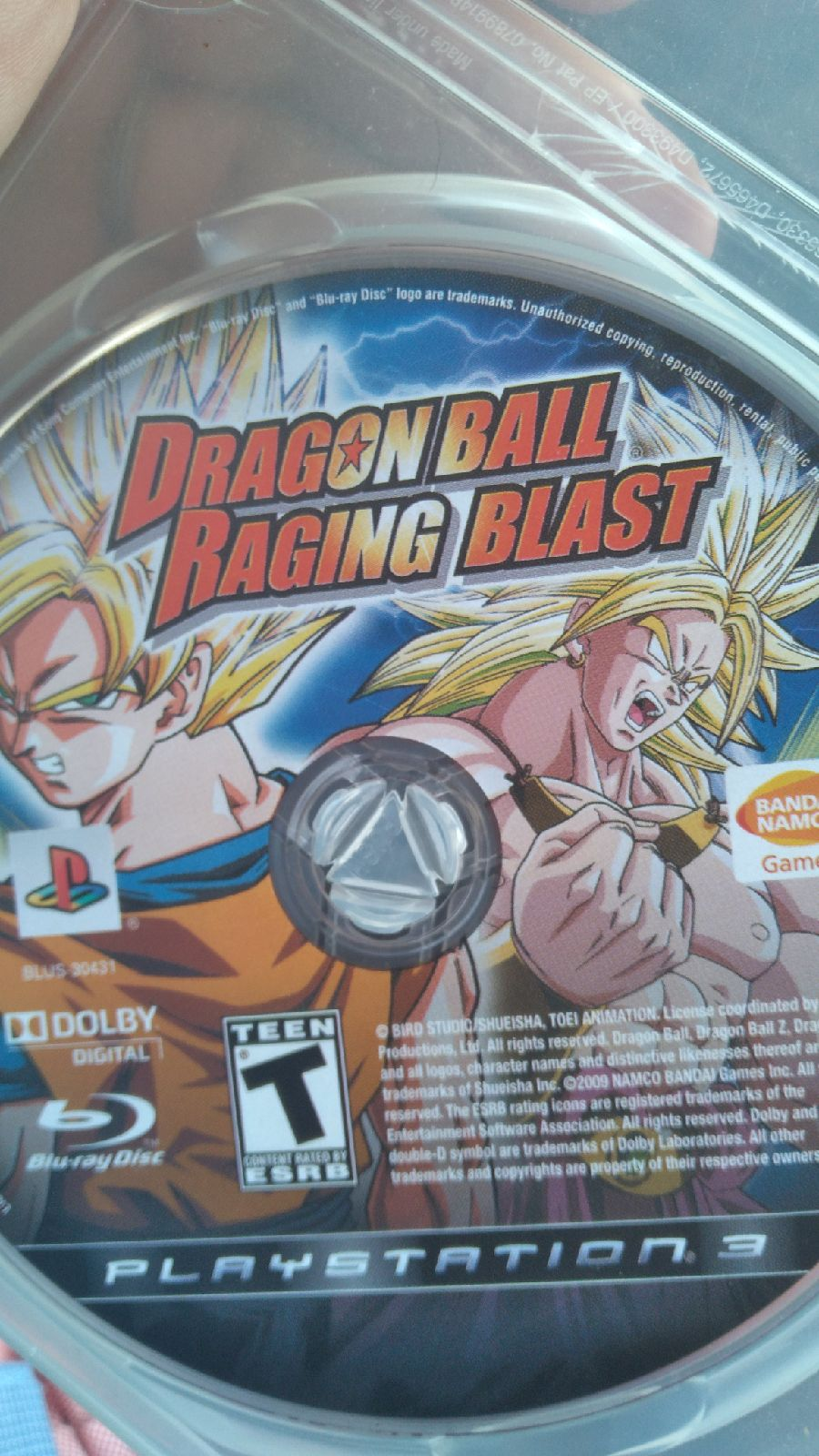 Dragon Ball: Raging Blast PS3
