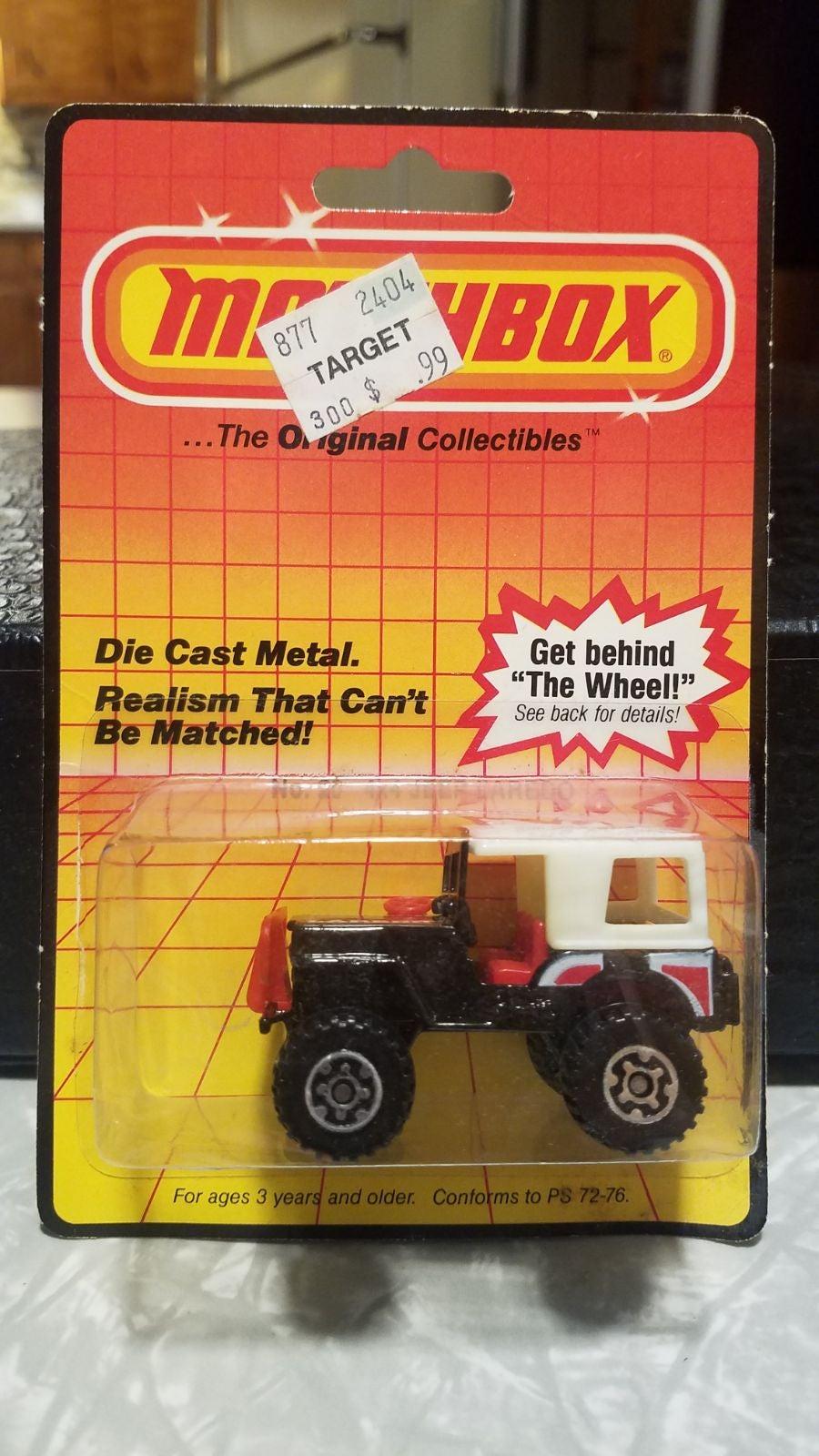 1983 Matchbox No 20 4x4 Jeep Laredo