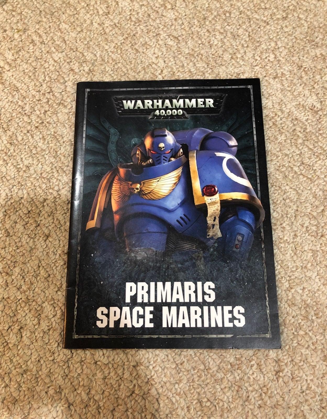 warhammer 40k primaris data book