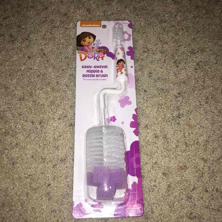 Brand New Dora Nipple and Bottle Brush