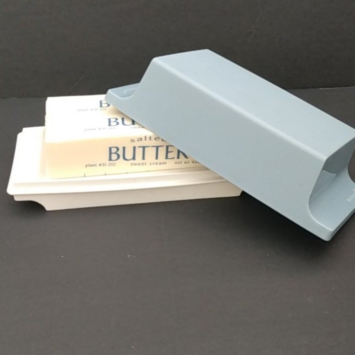 Vintage Tupperware Double Butter Dish