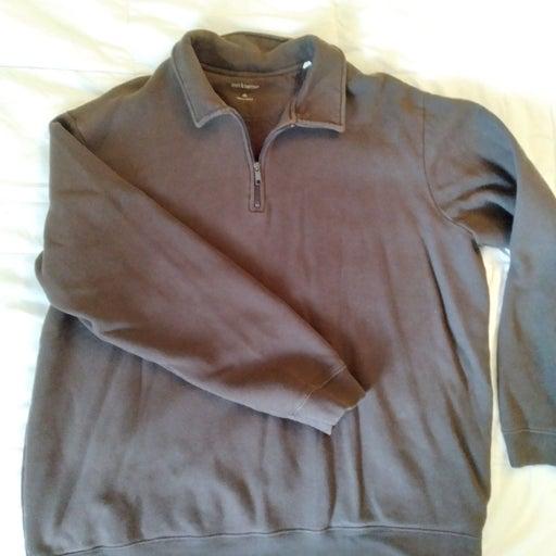 Mens Pullover 3/4 zip
