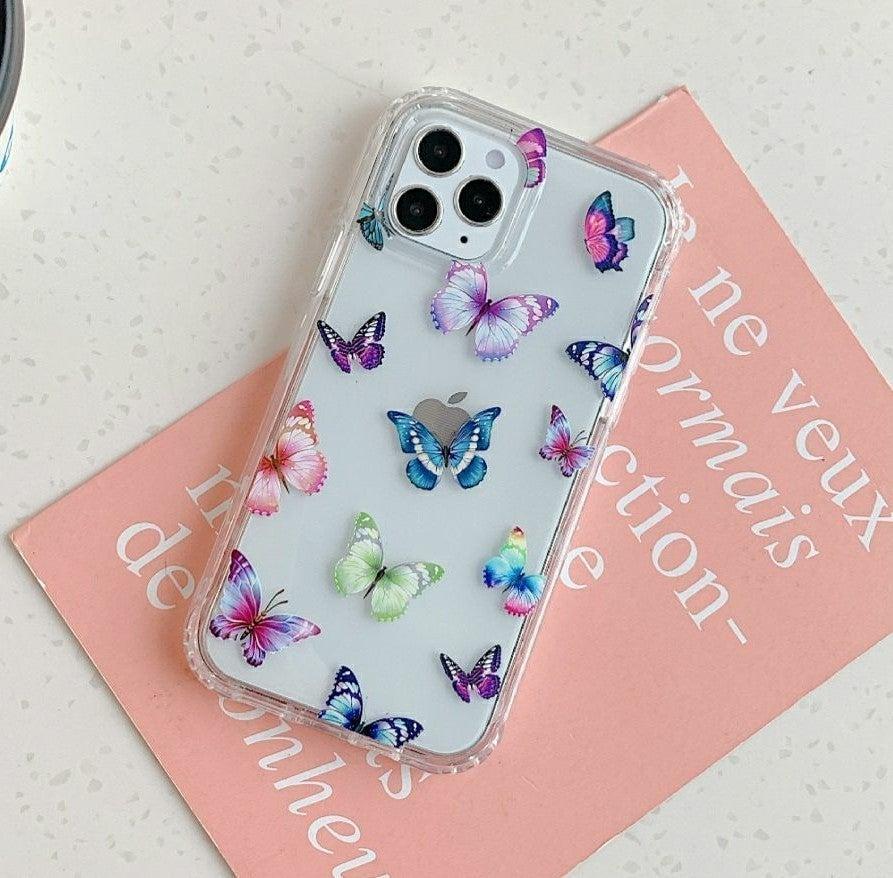 Iphone 12 pro, 12 Case Butterflies Armor