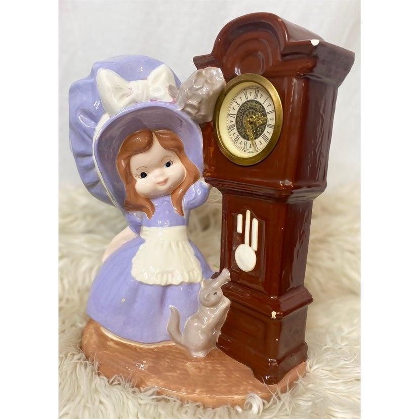 1974 Bryan Molds Girl Grandfather Clock