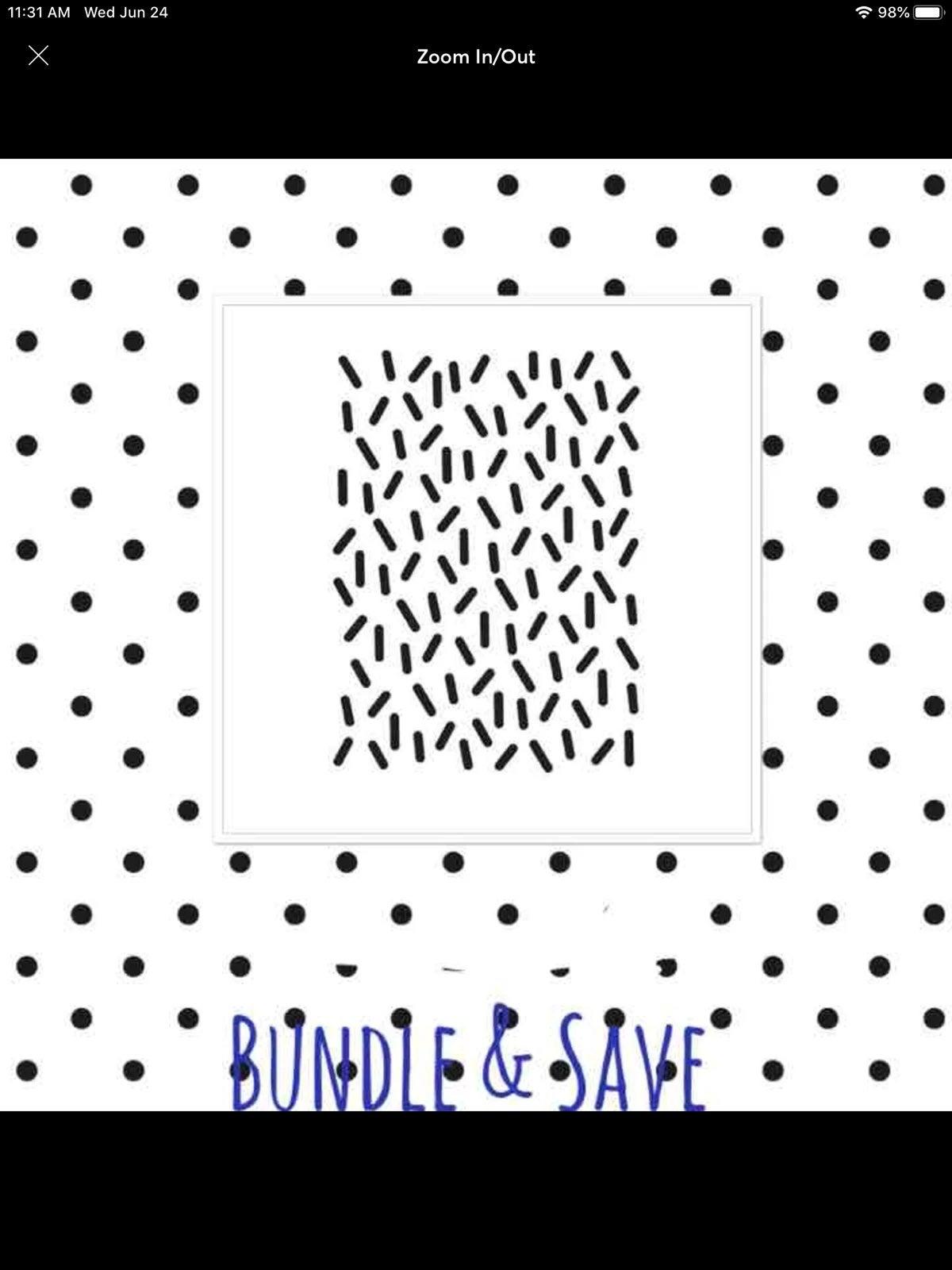 Sprinkles Embossing Folder