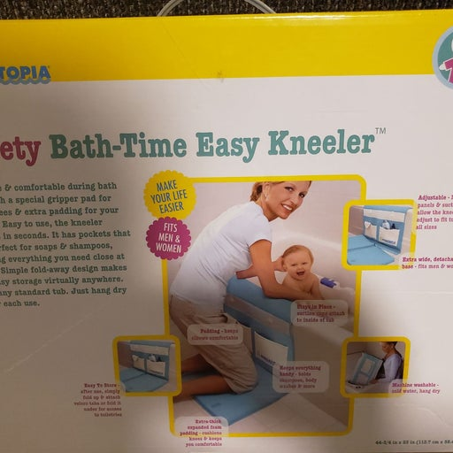 Baby bath kneeler