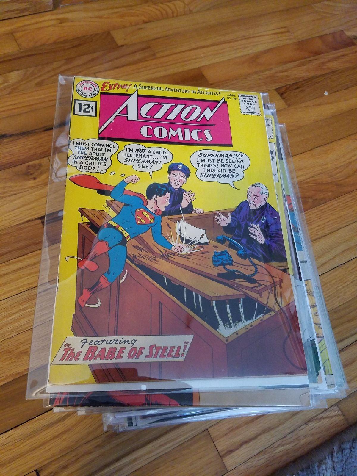 Action Comics Lot 34 Books 10, 12, 15 ce