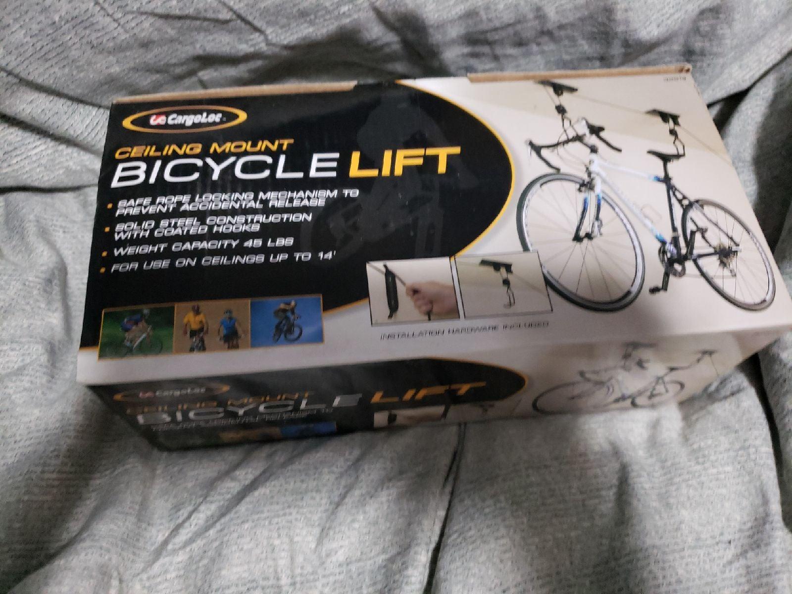 Cargoloc Bike Lift - Ceiling Mount