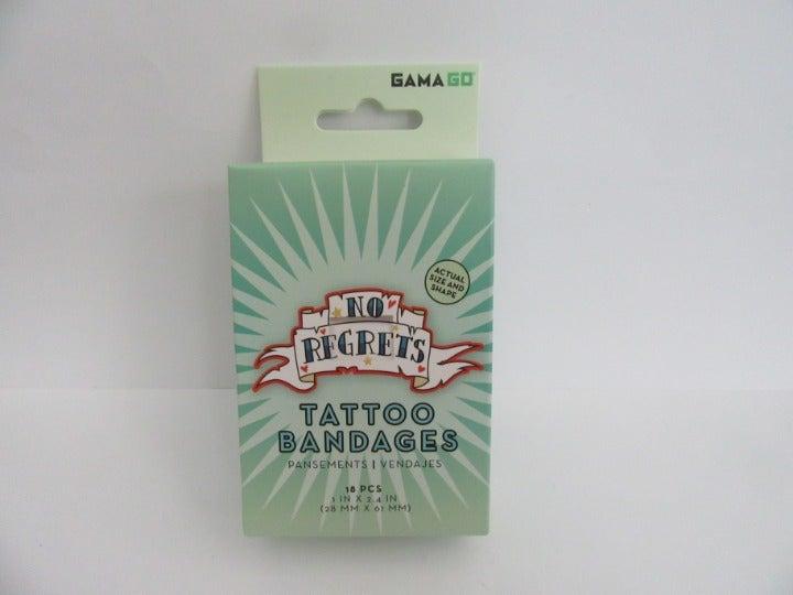 No Regrets Bandages