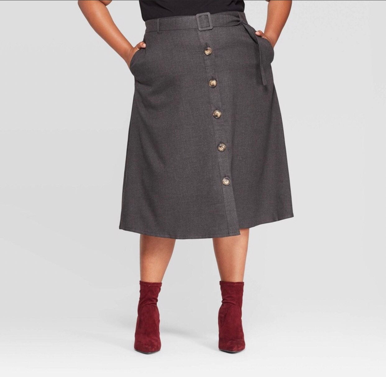 Ava & Viv Skirt w/Pockets, Size X (14W)