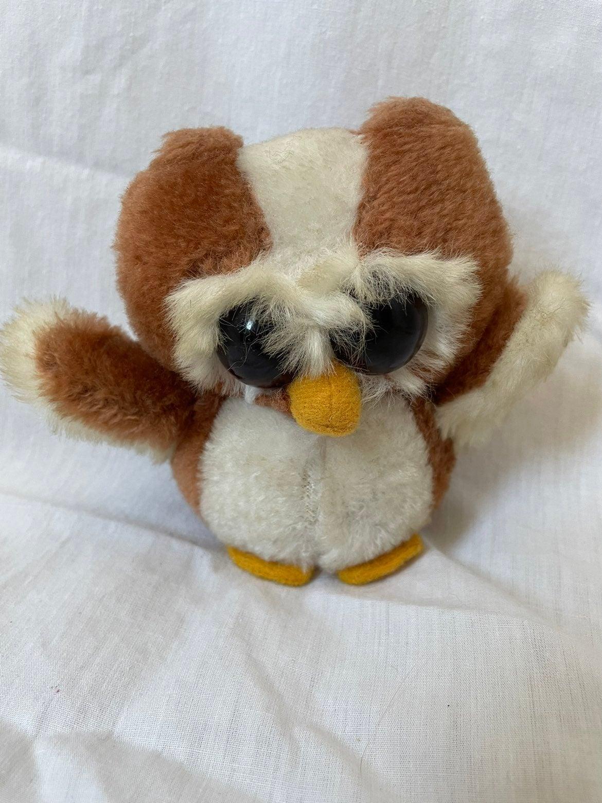 Vintage Russ Peepers owl plush