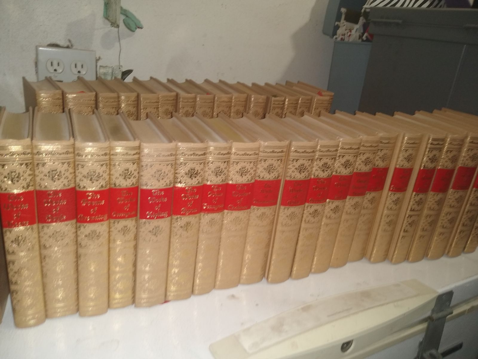 Early 1900's Set of books The Works of..