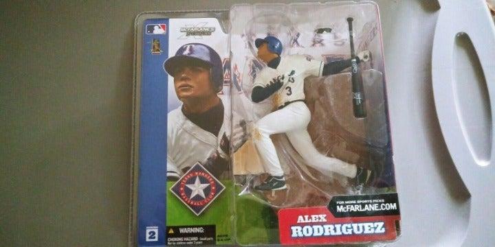 ALEX RODRIGUEZ Texas Rangers Mcfarlane
