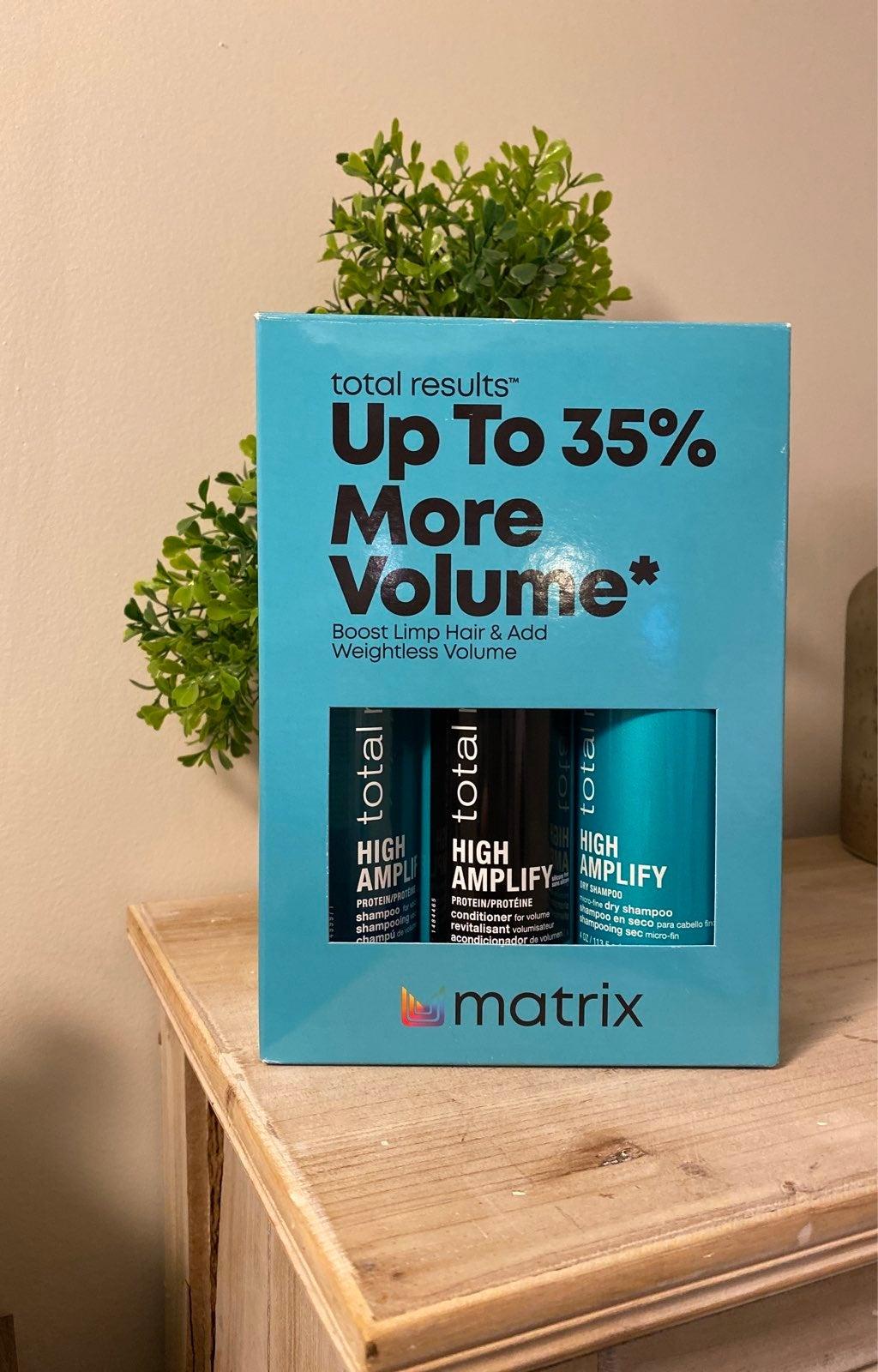 Matrix high amplify set